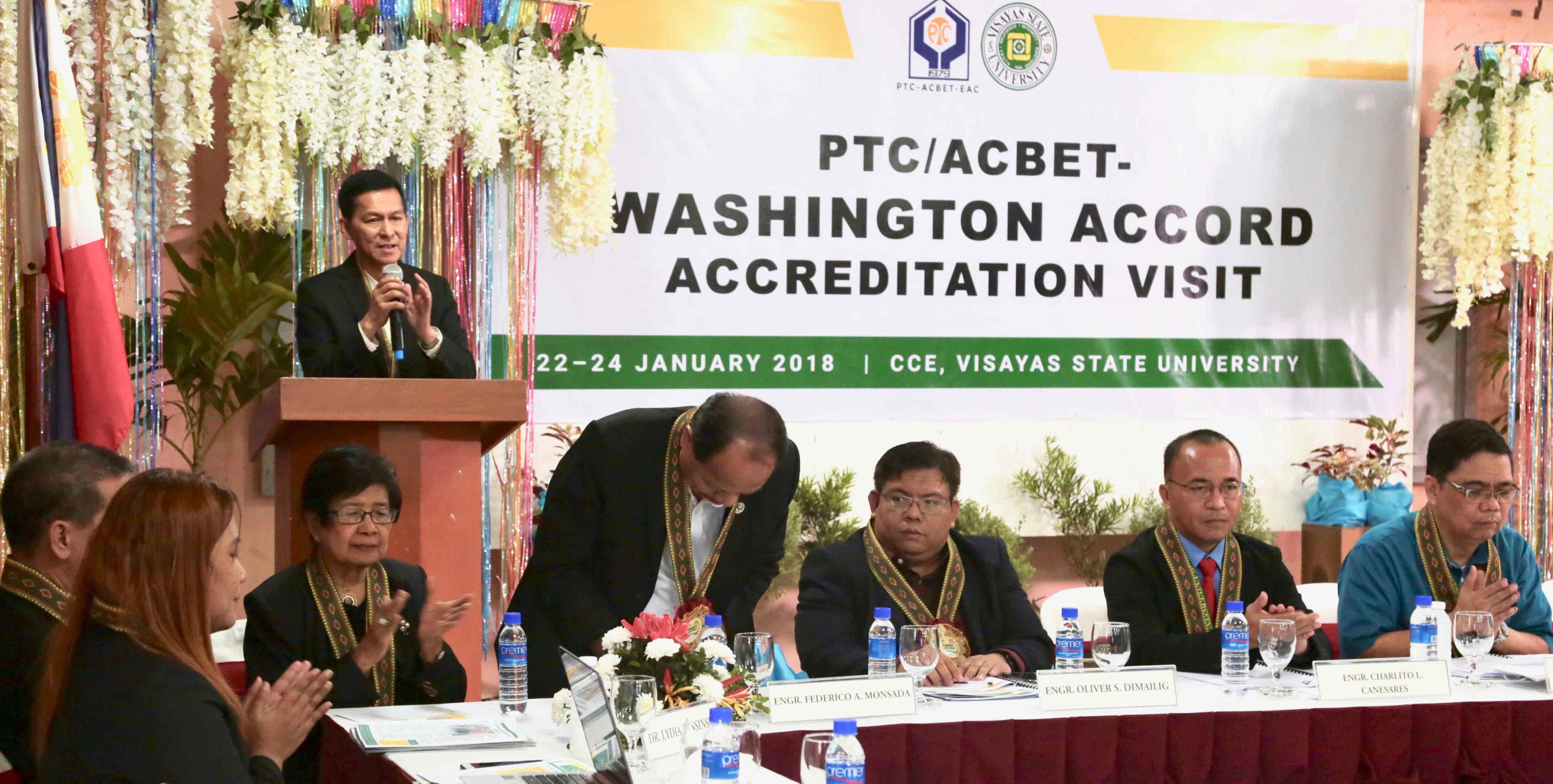 Vsu Caps Off Ptc Acbet Accreditation Visayas State University