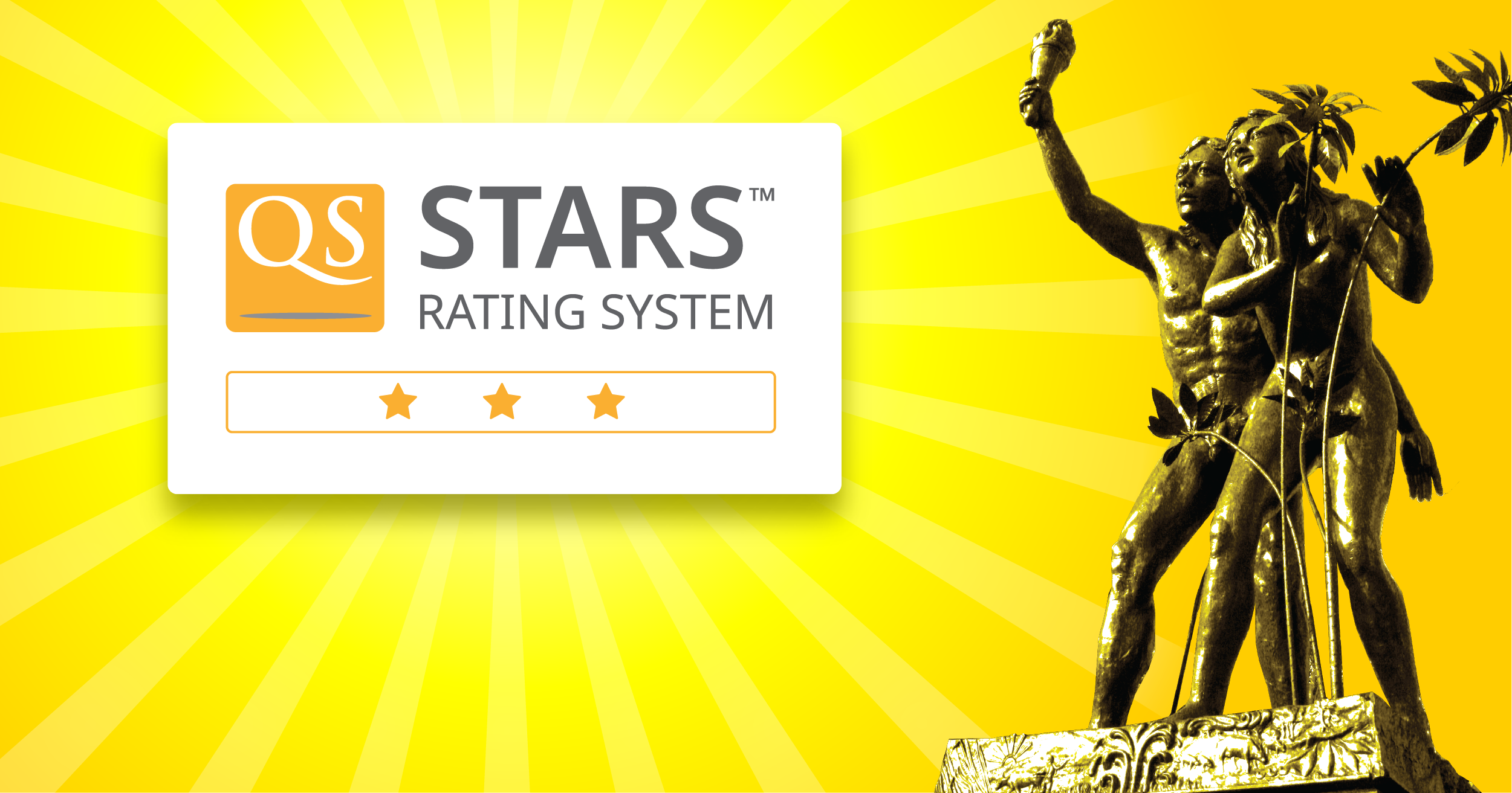 QS awards VSU with 3-Star rating