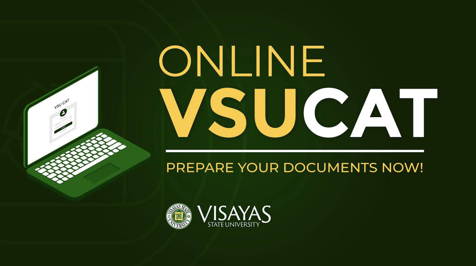 VSU CAT goes online for AY 2021-2022